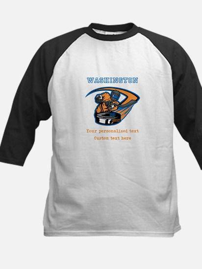 Hockey Personalized Baseball Jersey