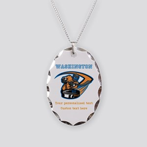 Hockey Personalized Necklace