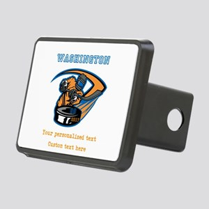 Hockey Personalized Hitch Cover