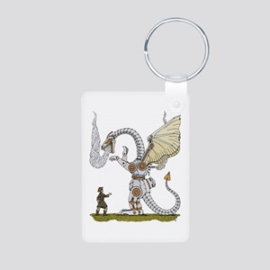 Mechanical Dragon Keychains