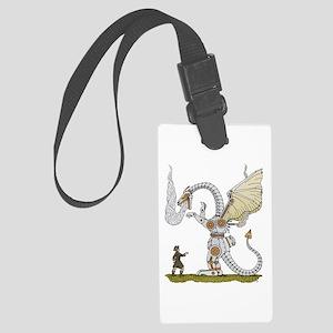 Mechanical Dragon Luggage Tag