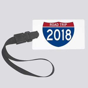 Road Trip 2018 Large Luggage Tag