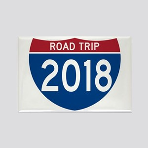 Road Trip 2018 Magnets