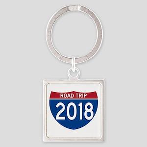 Road Trip 2018 Keychains