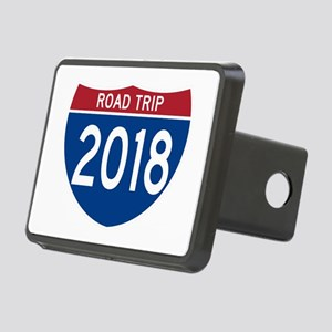 Road Trip 2018 Rectangular Hitch Cover