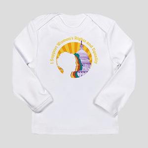 Young Feminist Yello Long Sleeve T-Shirt
