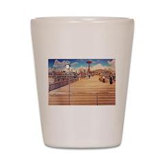 Coney Island Boardwalk Shot Glass