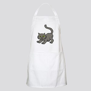 Grey kitty Light Apron