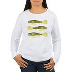 Mbu Giant Freshwater Puffer fish Long Sleeve T-Shi