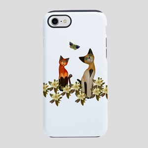 Kitties With Butterflies iPhone 8/7 Tough Case