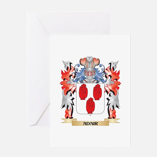Adair Coat of Arms - Family Crest Greeting Cards