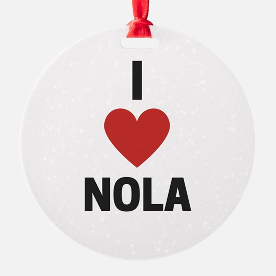 I Love NOLA Ornament