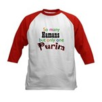 Only One Purim 2007 Kids Baseball Jersey