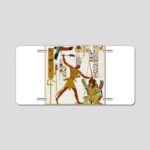 Ramses The Great Smiting Aluminum License Plate
