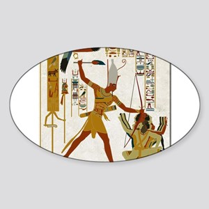Ramses The Great Smiting Sticker