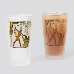 Ramses the Great Smiting Drinking Glass