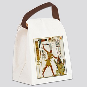 Ramses the Great Smiting Canvas Lunch Bag