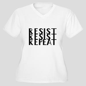 Resist Plus Size T-Shirt