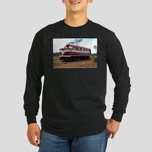 Old Ghan Train, Alice Springs, Long Sleeve T-Shirt