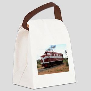 Old Ghan Train, Alice Springs, Au Canvas Lunch Bag