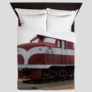 Old Ghan Train, Alice Springs, Austral Queen Duvet