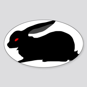 Black Rabbit Sticker