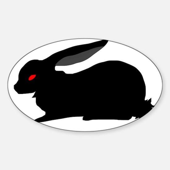 Black Rabbit Decal