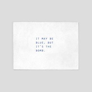 Blue Breaking Bad 5'x7'Area Rug