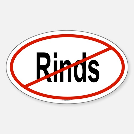 RINDS Oval Decal