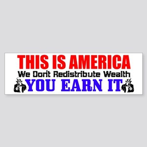 """This Is America"" Bumper Sticker"