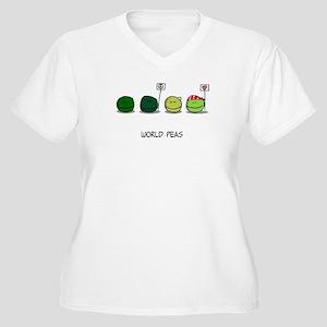 T-worldpeas Plus Size T-Shirt