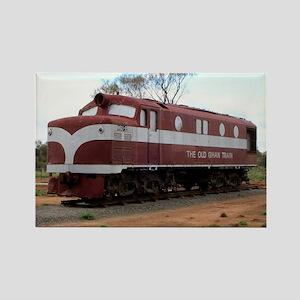 Old Ghan Train, Alice Springs, Australia Magnets