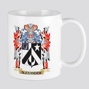 Alexander Coat of Arms - Family Crest Mugs