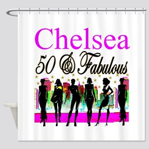 MS DIVA 50TH Shower Curtain