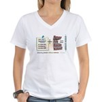 Absolute Resolve Women's V-Neck T-Shirt