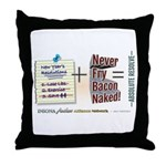 Absolute Resolve Throw Pillow