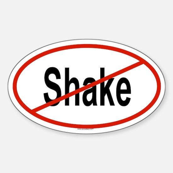 SHAKE Oval Decal