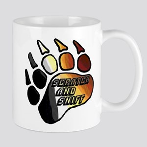 BEAR PRIDE PAW/SCRATCH/SNIFF Mug
