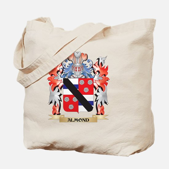 Almond Coat of Arms - Family Crest Tote Bag