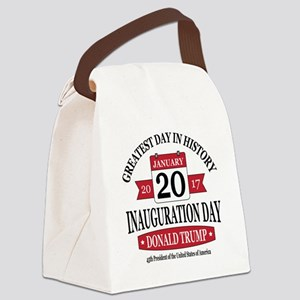 Rounded Square Canvas Lunch Bag