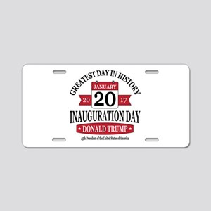 Rounded Square Aluminum License Plate