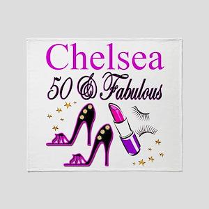 MS DIVA 50TH Throw Blanket
