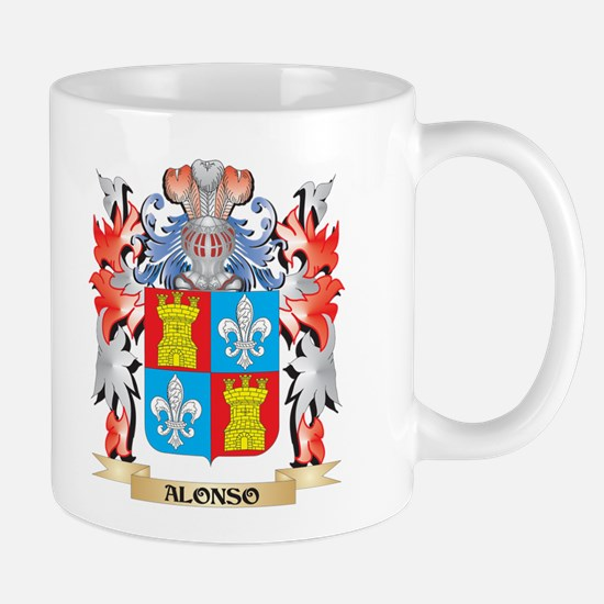 Alonso Coat of Arms - Family Crest Mugs
