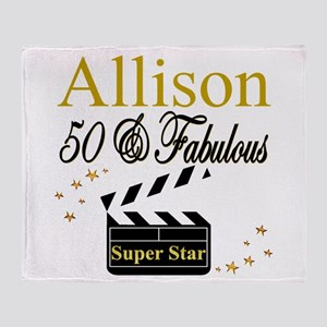MS DIVA 50TH Throw Blanket