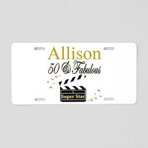 MS DIVA 50TH Aluminum License Plate