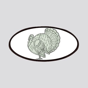 Wild Turkey Side Mono Line Patch