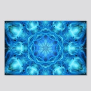 Blue Nova Mandala Postcards (Package of 8)