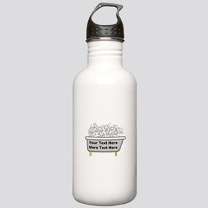 Personalized Bubble Ba Stainless Water Bottle 1.0L