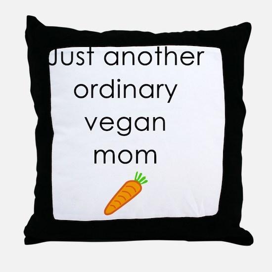 Cool Veganism Throw Pillow