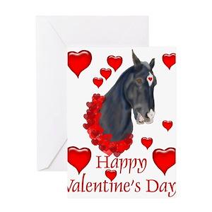 Horse valentine greeting cards cafepress m4hsunfo